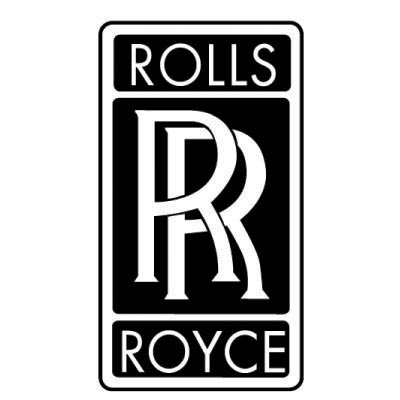 Design rolls-royce logo Water Transfer Temporary Tattoo(fake Tattoo) Stickers No.100270