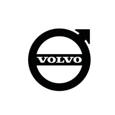 Design volvo logo Fake Temporary Water Transfer Tattoo Stickers No.100305