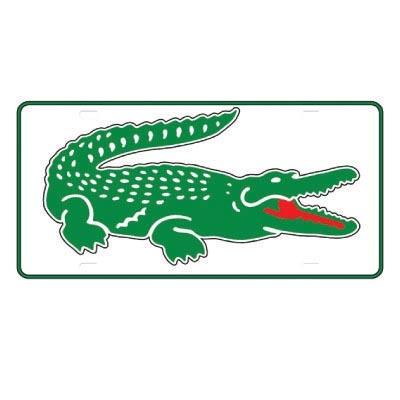 Design lacoste logo Fake Temporary Water Transfer Tattoo Stickers No.100368