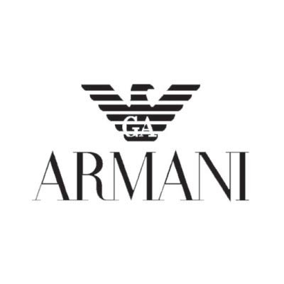 Design armani logo Fake Temporary Water Transfer Tattoo Stickers No.100546