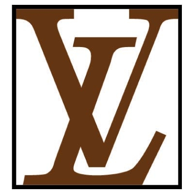 Design louis vuitton logo Water Transfer Temporary Tattoo(fake Tattoo) Stickers No.100068