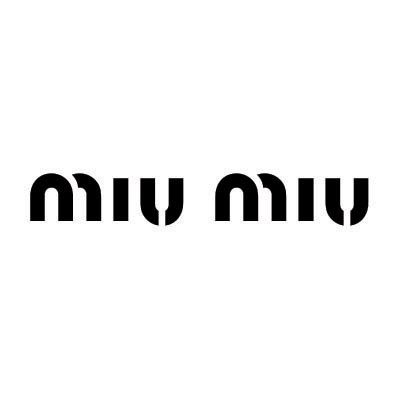Design miu miu logo Water Transfer Temporary Tattoo(fake Tattoo) Stickers No.100085