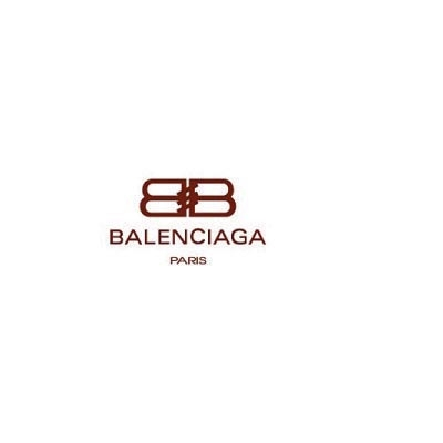 Design balenciaga logo Water Transfer Temporary Tattoo(fake Tattoo) Stickers No.100008